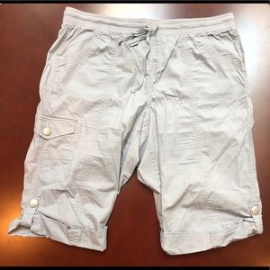 Gray with beige hint Style and Co. Shorts size 18W